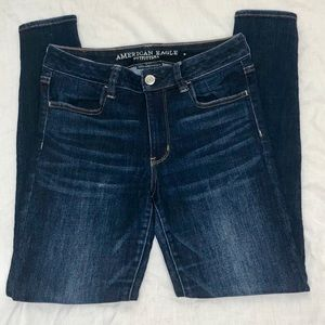 ANERICAN EAGLE HI RISE JEANS